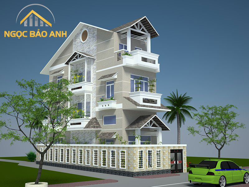 Thiết kế nhà ông Huy - Hải Phòng