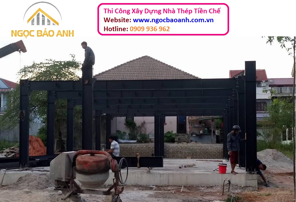 Thi Công Xây Dựng Nhà Thép Tiền Chế Tại Đồng Nai