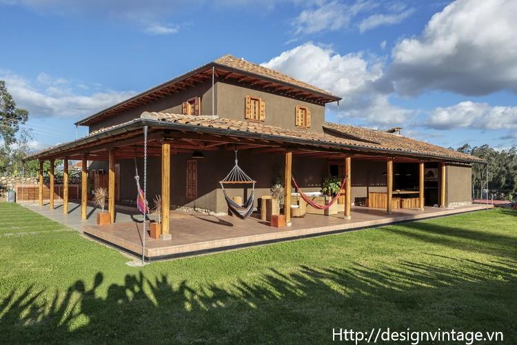 Thiết kế thi công nhà mái ngói