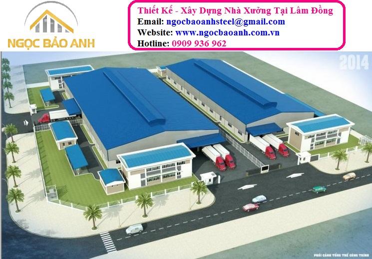 Thi Công Xây Dựng Nhà Xưởng Tại Lâm Đồng
